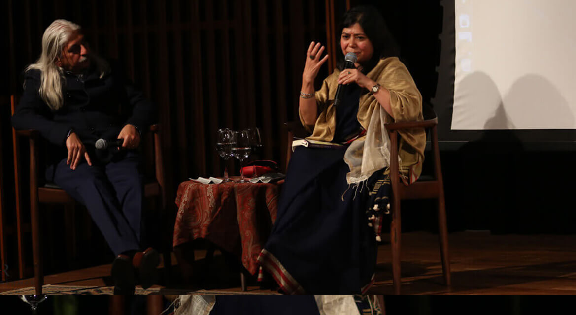 Shrabani Basu in Conversation with Sanjoy Roy